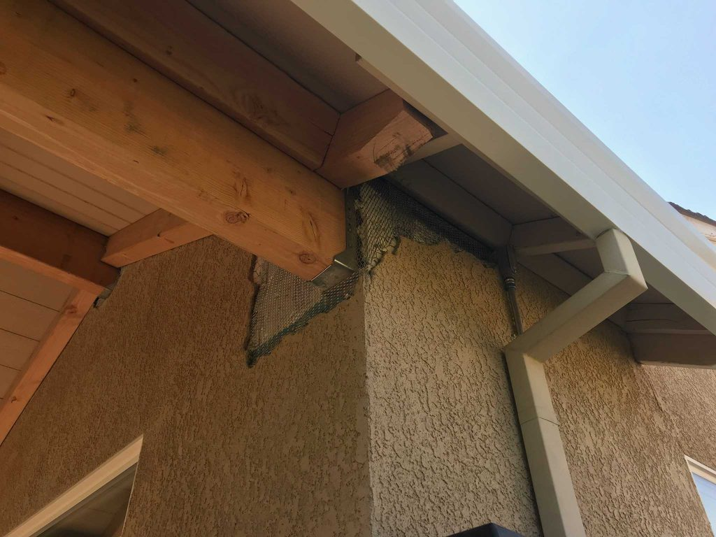 F.C. Bickert Mobile Patching Service - Soffit Patching